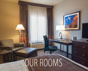 See Our Rooms at the Best Western PLUS Winslow Inn in Winslow, Arizona