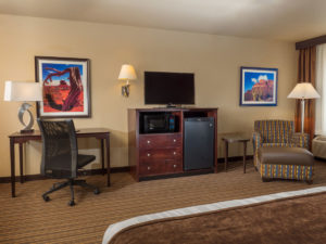Executive King Room at the Best Western PLUS Winslow Inn - Winslow, Arizona